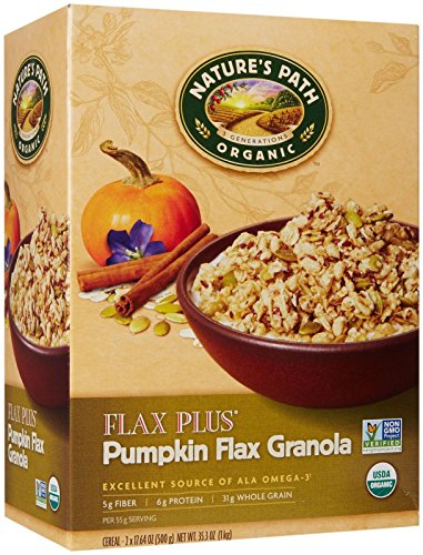 Nature's Path Organic Pumpkin Flax Plus Granola, 35.3 Ounce