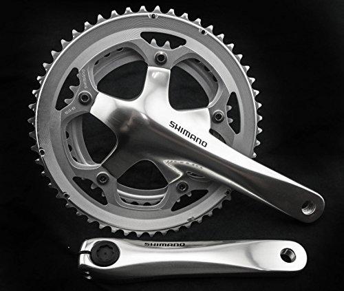 - SHIMANO 550 FC-R550 170mm 39/53t Road Bike Crankset Crank Alloy Silver