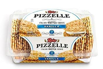 Reko Pizzelle Vanilla 7oz (1package) Kosher Waffle Cookie