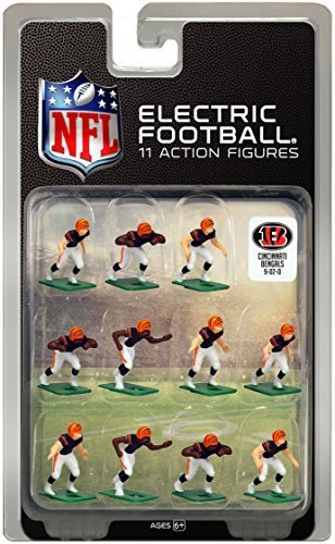 Cincinnati Bengals?Dark Uniform NFL Action Figure Set by Tudor Games by Tudor Games, Inc.