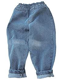 Kidscool Space Toddler Harem Pants Elastic Waist Cute Fashion Jeans