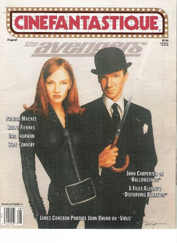 Cinefantastique Magazine Volume 30 #4 August 1998 (The Avengers) (Halloween 4 Movie Review)