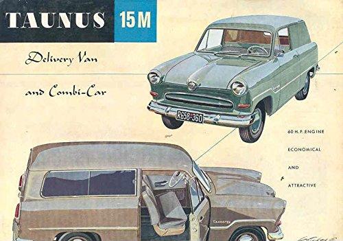 1956 Ford Taunus 15M Sedan Delivery Wagon ()