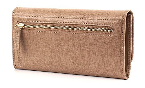 LA MARTINA La Portena Lady Wallet With Flap Light Beige