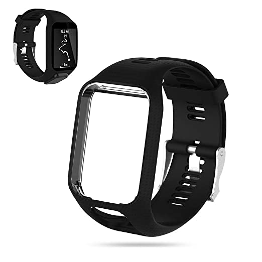 FOONEE Tomtom Watch Strap, Replacement Silicone Watchbands Straps ...