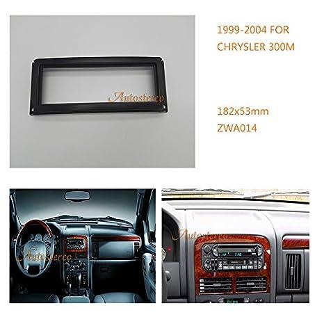 autostereo embellecedor para radio de coche Panel adaptador para Chrysler 300 M/Concorde; LHS
