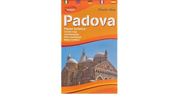 Padua (Padova) Tourist Map (Laminated) in English by Lozzi (English ...