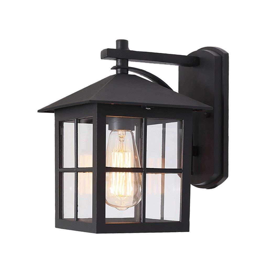 alta qualità generale Esterno lampada lampada lampada da parete, impermeabile esterno muro quadrato vetro luce creativo illuminazione scala porta corridoio balcone outdoor giardino lampada  liquidazione