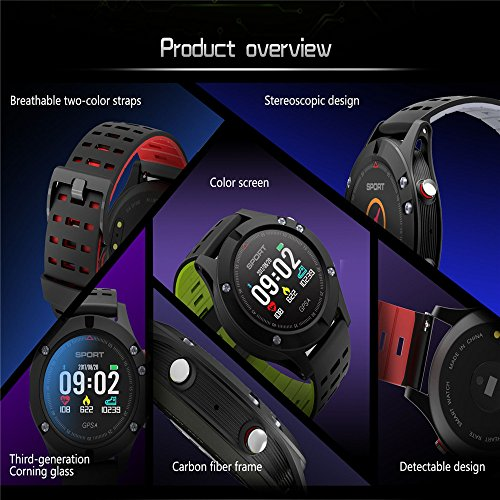 Amazon.com: Easycat New No.1 F5 GPS Smart Watch Altimeter ...