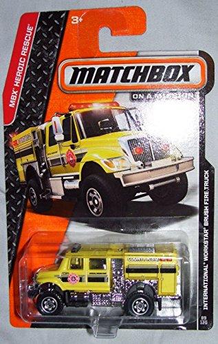 2014 Matchbox MBX Heroic Rescue International Workstar Brush Fire Truck