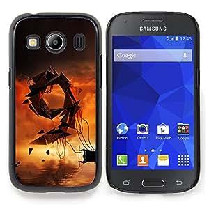 GIFT CHOICE / Teléfono Estuche protector Duro Cáscara Funda Cubierta Caso / Hard Case for Samsung Galaxy Ace Style LTE/ G357 // Abstract 9 //