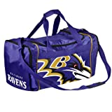 Forever Collectibles NFL Baltimore Ravens Core Duffle Bag