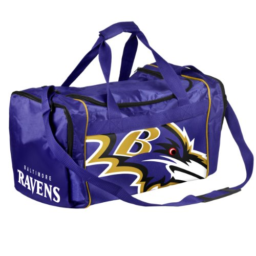 Forever Collectibles NFL Baltimore Ravens Core Duffle Bag by Forever Collectibles