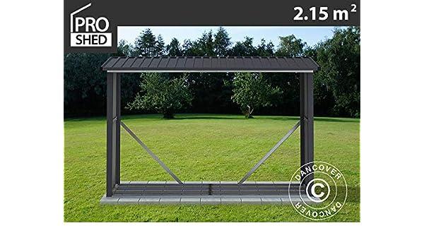 Dancover Leñero Exterior 2, 42x0, 89x1, 56m Proshed, Antracita: Amazon.es: Jardín