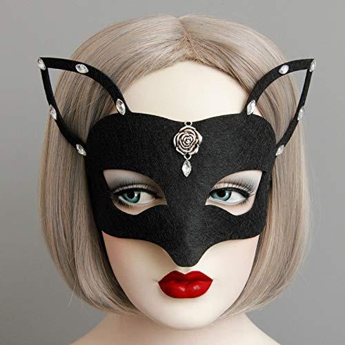 Party Eye Mask - Holloween Mask Girls Women Sexy Catwoman Masquerade Dancing Party Eye Cat Halloween Fancy Dress - Mask Masks Sexy Adults Party Sleeping Kids Bulk Woman -