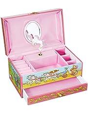 Goki Horse Music Box with Drawer