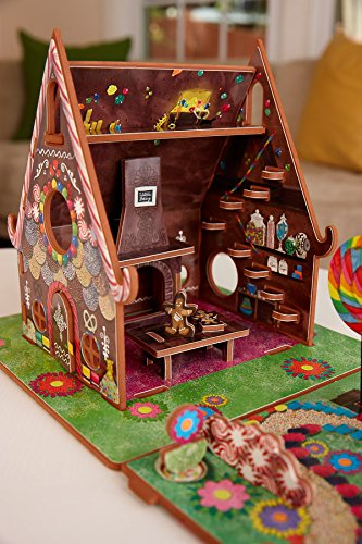 Hansel and Gretel Toy House and Storybook Playset - Import