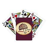 beatChong UK London Umbrella Stamp British Poker Playing Card Tabletop Board Game Gift