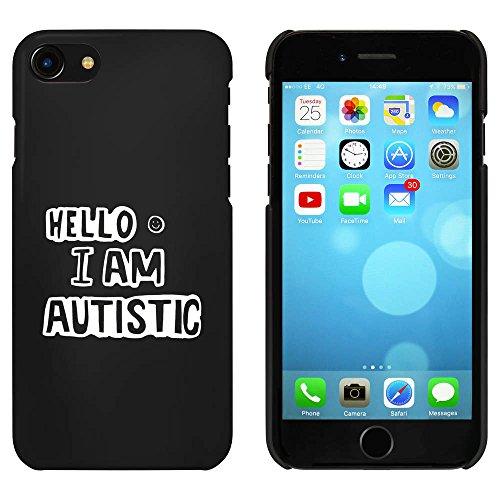 Noir 'I Am Autistic' étui / housse pour iPhone 7 (MC00080461)