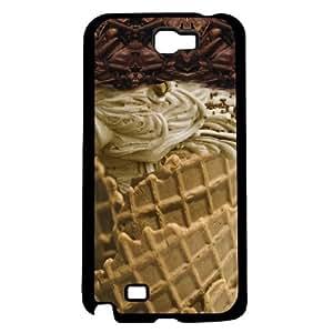Ice Cream Vanilla Hard Snap On Case (Galaxy Note 2 II)