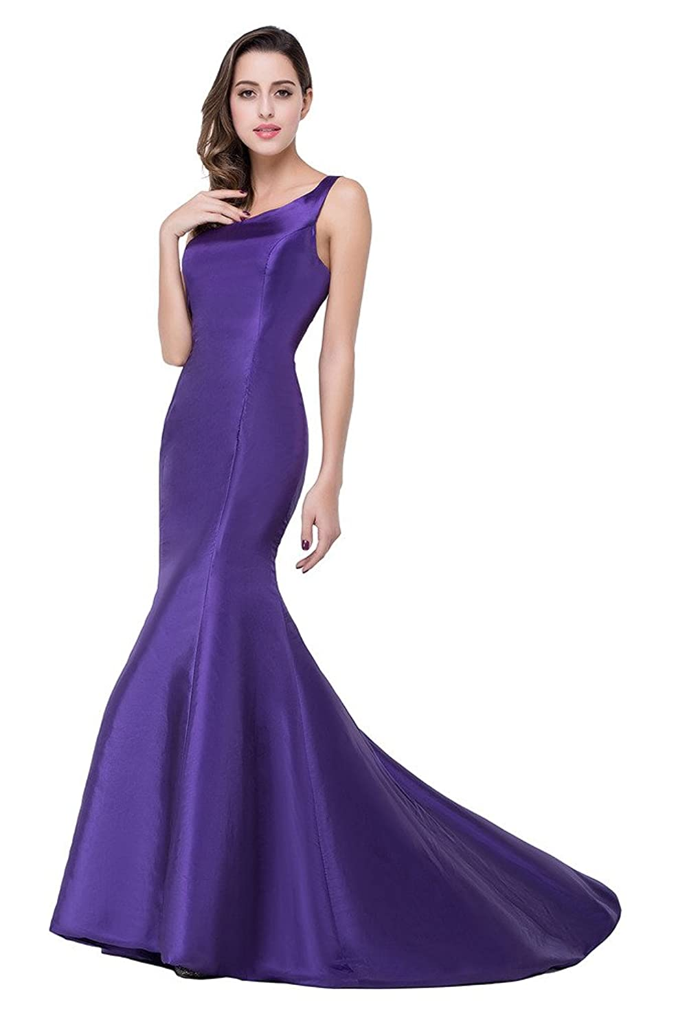 30%OFF Babyonline Elegant One Shoulder Long Mermaid Prom Dress For ...