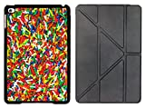 Rikki Knight Colorful Candy Sprinkles Design Smart Case for Apple iPad Mini 4 ONLY - Full Coverage Ultra-thin smart cover