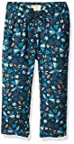 Roxy Little Girls' Fashion Beach Pant, Dress Blue Bird in The Sky, 7