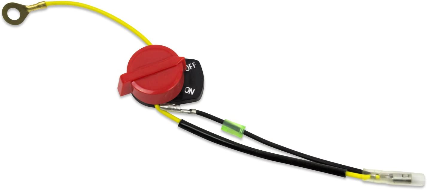 For Honda GX110// GX120// GX140 GX160 GX200 Engine On//Off Stop Switch W// Two Wire