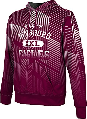 ProSphere Men's Hillsboro High School Bold Hoodie Sweatshirt (Apparel) - Tx Hillsboro 76645