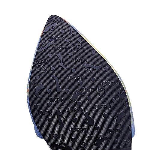 Femme Compensées ASL05354 BalaMasa Bleu Sandales qFRtn7