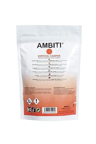 Ambiti Am300260 Ambiti Wc Hydro Camper Einzeldosis Für Den Abfalltank Schwarzwasser 20 Dosierungen X 10 G Stück Gewerbe Industrie Wissenschaft