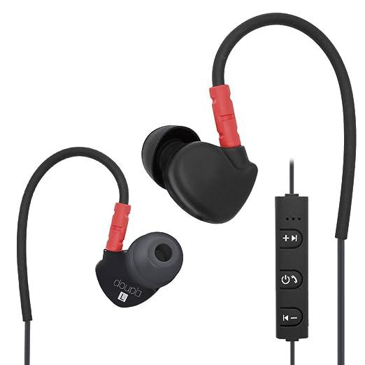 17 opinioni per Doupi Sport Auricolari Bluetooth 4.1, Auricolare Nero / Rosso