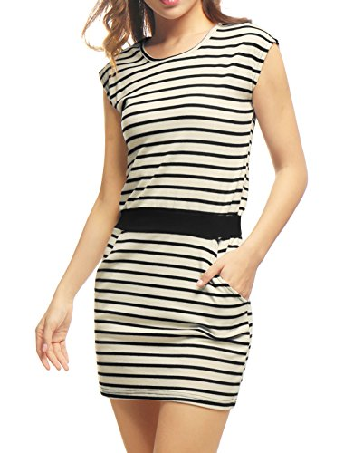 Allegra Womens Stripes Contrast Pockets product image