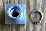 Triton 04414 Trailer Insert Nut with Triton 03400 Snap Ring