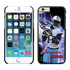 NFL Tennessee Titans Damian Williams Cases Case Cover For Apple Iphone 6 Plus 5.5 Inch Black NFLIphone6Cases13418