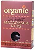 Organic Times Organic Dark Chocolate Coated Macadamias Packet, 150 g
