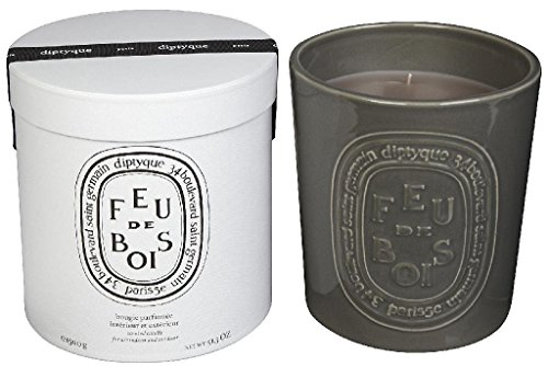 Diptyque Feu de bois Indoor/Outdoor Ceramic Candle-51.3 oz by Diptyque