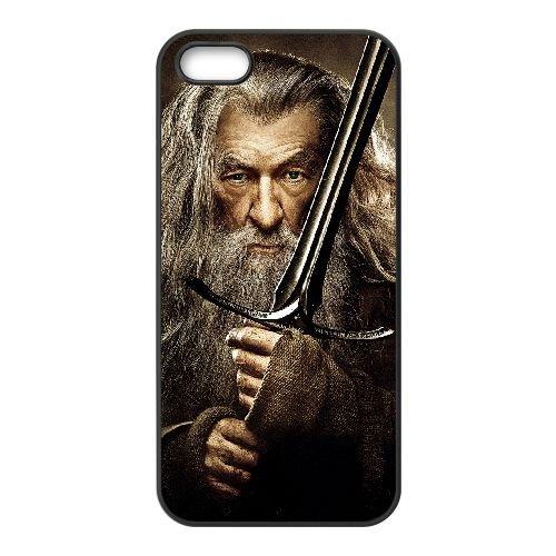 Gandalf 001 coque iPhone 4 4S cellulaire cas coque de téléphone cas téléphone cellulaire noir couvercle EEEXLKNBC25189