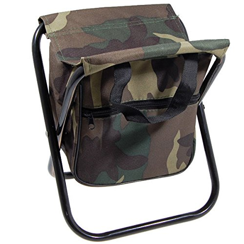 Amazon.com : Portable sillas camping Camo Folding chair Camp Stool ...