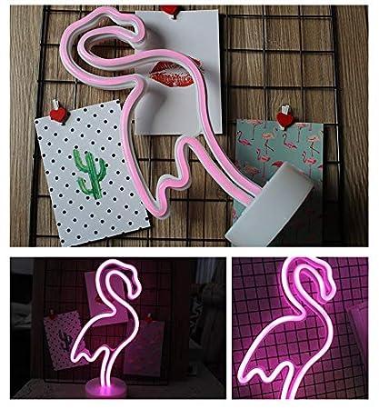 luz nocturna LED Noche L/ámpara de mesa Neon Cartel /ánimo luces Decoraci/ón L/ámpara de ne/ón para Navidad Fiesta de cumplea/ños infantil Fiesta Sal/ón Decor verde Ananas