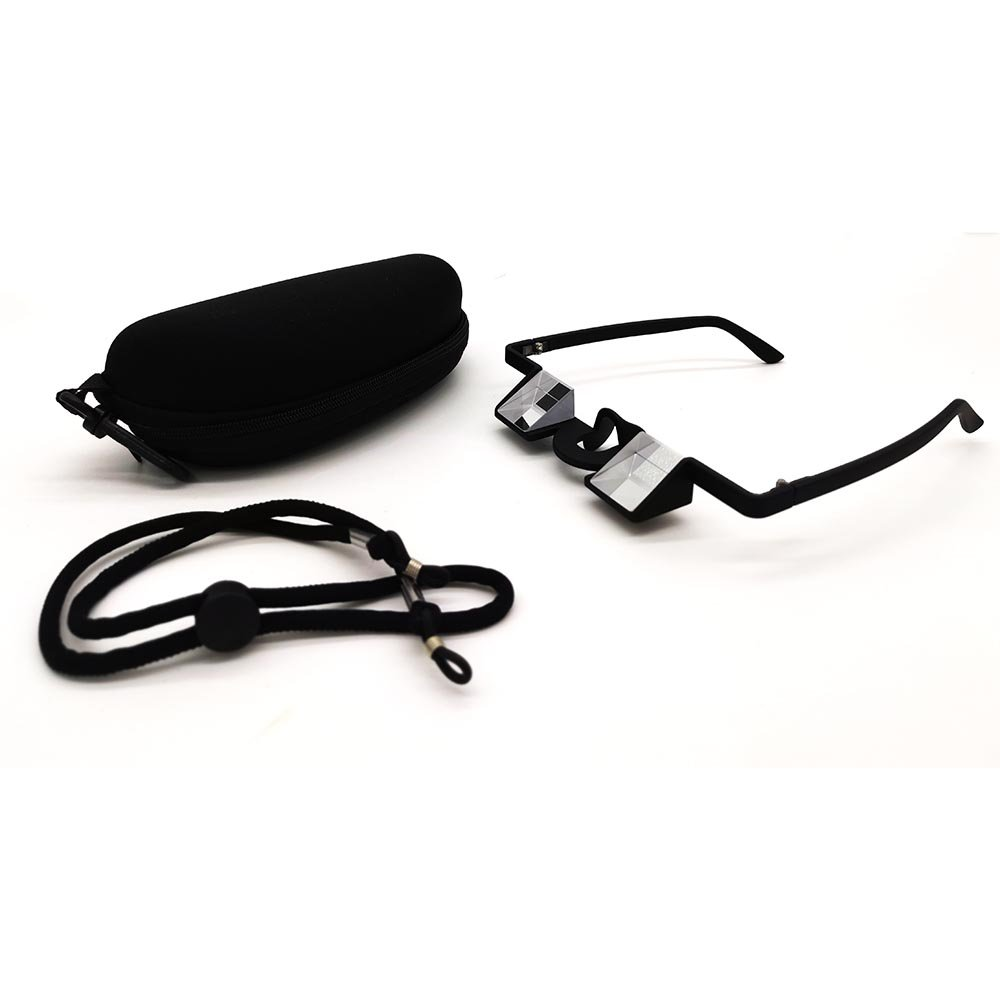 Fantasia Light Weight High Transparent Belay Glasses with Hard Case and Head Strap