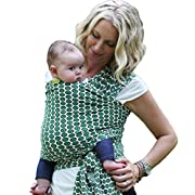 Boba Baby Wrap Carrier, Shannon - The Original Child and Newborn Sling, Perfect for Infants and Babies up to 35 lbs (0-36 Months)