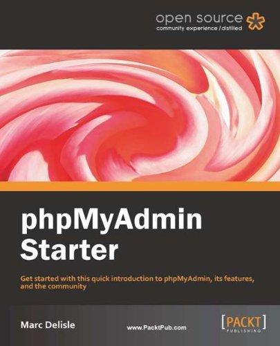 phpMyAdmin Starter cover