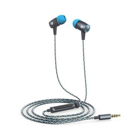 para Huawei Honor Auriculares Deportivos con Cable, Guangmaoxin Auriculares de 3,5 mm con