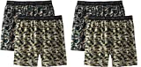 Hanes Men's 4Pack Camo Exposed-Waistband Boxer Shorts Boxers Underwear XL