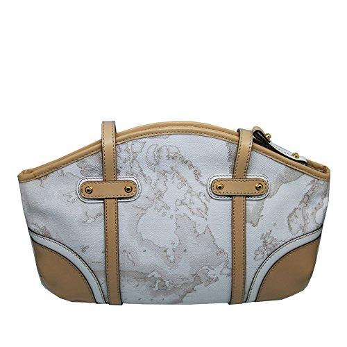 Borsa Donna Shopping | Bag Woman Shopping | Alviero Martini 1^ Classe Geo Costiera | Alviero Martini 1 ^ Coastal Geo Class | Lga78w2970900-bianco Lga78w2970900-white