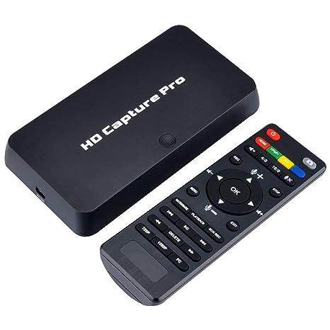 TOOGOO Tarjeta De Captura De Video HD 1080P Hdmi Soporte Playback, Grabación del Horario De