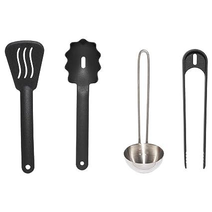 Amazon.com: IKEA ASIA DUKTIG 4-Piece Toy Kitchen Utensil Set ...