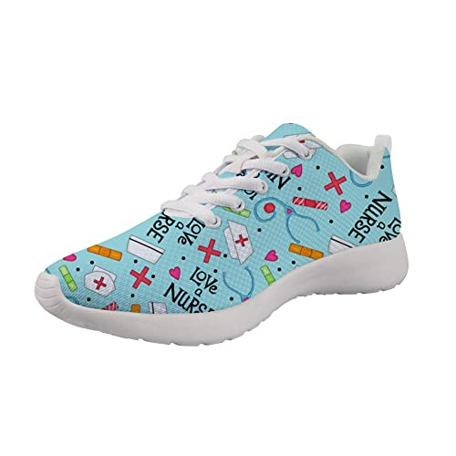 Showudesigns - Zapatillas de Running de Caucho para Mujer, Color, Talla 36.5: Amazon.es: Zapatos y complementos