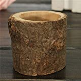 C&C Products Tree Branch Rustic Candle Holder Wooden Timber Candlesticks Wedding Home Garden Decor Gift